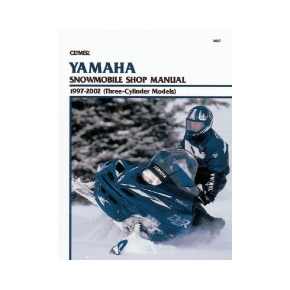 Clymer Yamaha Snowmobile 97-02 Manual