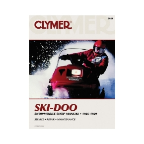 Clymer Ski-Doo Snowmobile 85-89 Manual