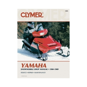 Clymer Yamaha Snowmobile 84-89 Manual