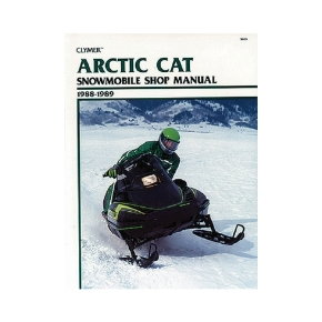Clymer Artic Cat Snowmobile 88-89 Manual