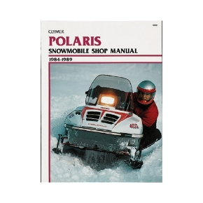 Clymer Polaris Snowmobile 84-89 Manual