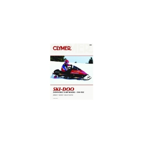 Clymer Ski-Doo Snowmobile 90-95  Manual