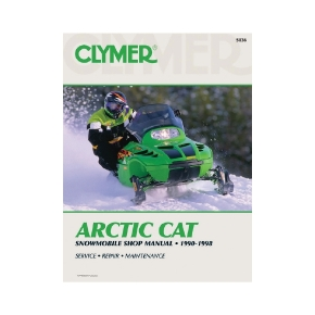 Clymer Arctic Cat Snowmobile 90-98 Manual